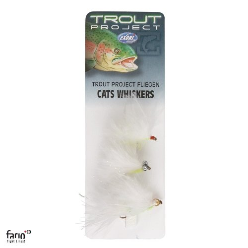 Trout Project Fliegensortiment Nr.5 Cats Whiskers