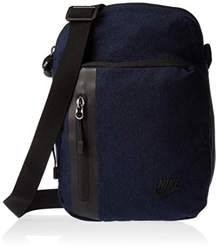 Nike NK TECH SMALL Items Gym Bag, Obsidian/Black/(Black), MISC