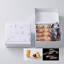 12個入 【焼いて食べる 招き猫 もなか 8個 × 特大 黒糖 かりんとう 4本 詰合せ 組箱入】