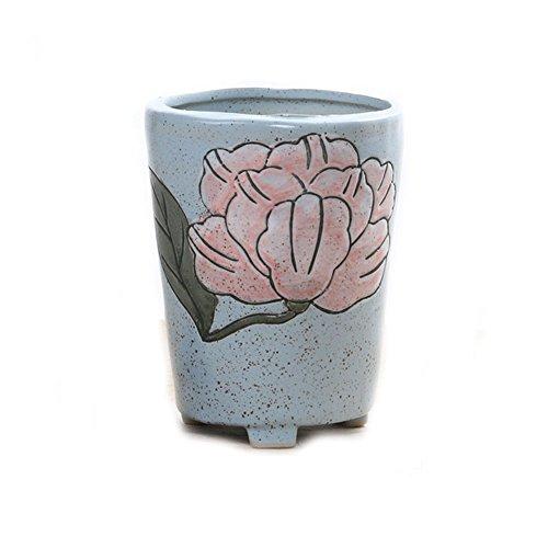 bystar Micro Paysage Plantes succulente Céramique Creative Fleur Pot Plantes Pots, mini,