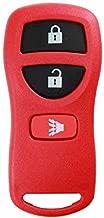 KeylessOption Keyless Entry Remote Control Car Key Fob Replacement for KBRASTU15, CWTWB1U733-Red