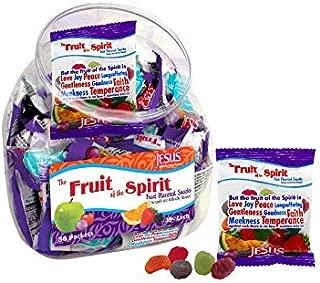 Scripture Candy, Fruit of the Spirit Jar (50 Pieces)
