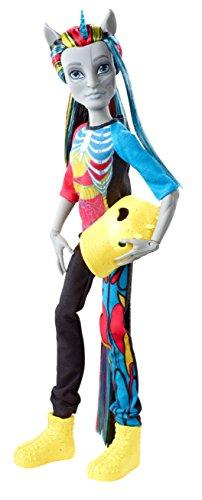 Mattel Monster High CCB43 Poupée Fatale Fusion Hybride Neighan, poupée
