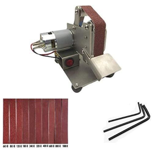 DXX-HR Multifuncional lijadora de banda eléctrico Sander bricolaje Pulido Rectificadora cortador de...