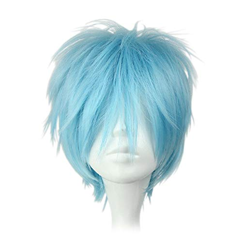 CoolChange Perruque de Tetsuya de la série Kuroko no Basuke, Bleue