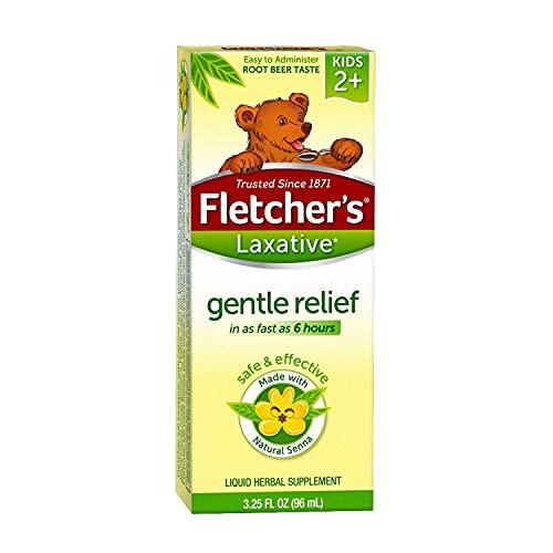 Fletcher's Root Beer Flavored Gentle Liquid Laxative - 3.25 oz Bottle