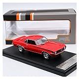 Fábrica Original 1:43 For Chevrolet Camaro RS 1969 Simulación De Aleación Estática Modelo De Coche Colección Regalo Juguete Artesanías (Color : 2)