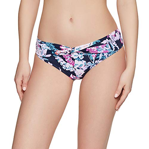 Joules Belle Bikini Bottoms UK 18 Reg Navy Floral