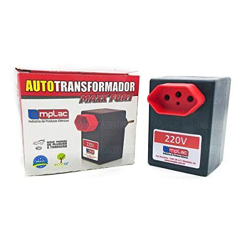 Auto Transformador 60va 45 watts Conversor Automático Plugin 110v Para 220v Emplac Modelo F30000
