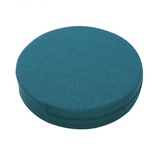 Patio Chair Cushion Balcony Mat for Meditation Yoga,Linen Tatami Futon Pillow,Thicken Solid Chair Pad,Round Floor Seat Cushion K 50x50x10cm(20x20x4in)