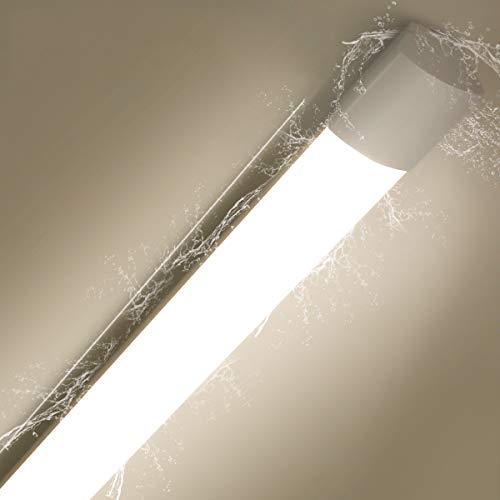 Oraymin LED Feuchtraumleuchte 36W 150CM LED Deckenleuchte 3600LM 4000K IP65 Wasserdicht LED Röhre für Garagen, Lager, Werkstatt Tageslichtweiß