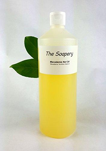 Huile de Macadamia 1 litre - 100% Pur et Naturel