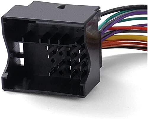 FORETTY Auxiliar Cable Bluetooth Interior MICRÓFONO Nuevos Accesorios de Piezas Cable Fit para P-Eugeot 307 308 407 RD4 Radio CD
