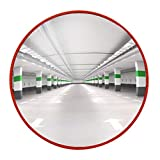 LHFHA Lente Gran Angular para Tráfico Al Aire Libre, Espejo Interior Espejo Antirrobo de Supermercado Espejo de Material para Pc Espejo Anticolisión de Presión para Imágenes Claras Espejo de Esquina