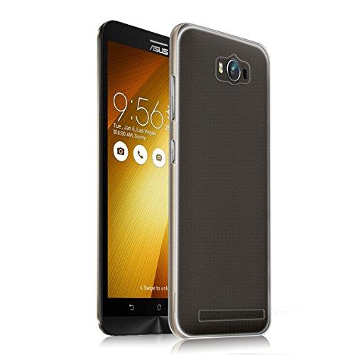 Custodia per Asus Zenfone Max ZC550KL Case, Vikoo Ultra Sottile Leggero Trasparente Morbida TPU Custodia Silicone Cover per Asus Zenfone Max ZC550KL 5.5 Pollici Smartphone TPU Case