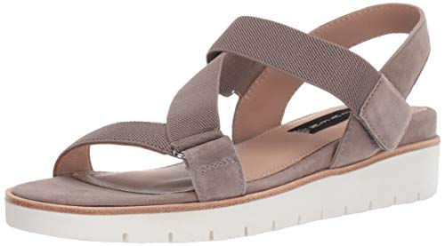 Price comparison product image STEVEN by Steve Madden Women's Glyn Sandal,  Taupe Suede,  7 M US