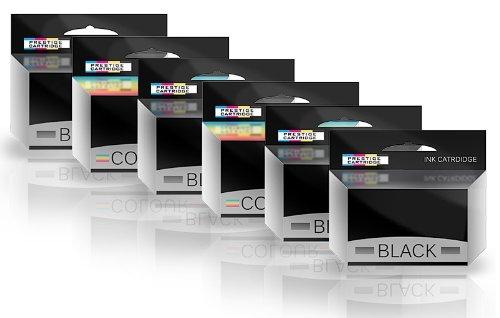 Prestige Cartridge 6 Remanufacturados con Lexmark No.16 & No.26 Cartuchos de Tinta para Lexmark I3 X1100 X1150 X1170 X1180 X1190 X1195 X1200 X1270 X2250 X72 X74 X75 Z25 Z35 Z515 Z605 Z615 Z640