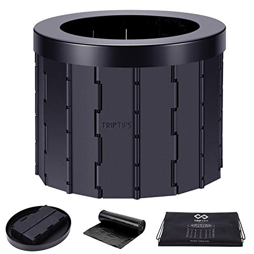 TRIPTIPS Portable Toilet for Car Travel Toilet Camping Toilet Portable...