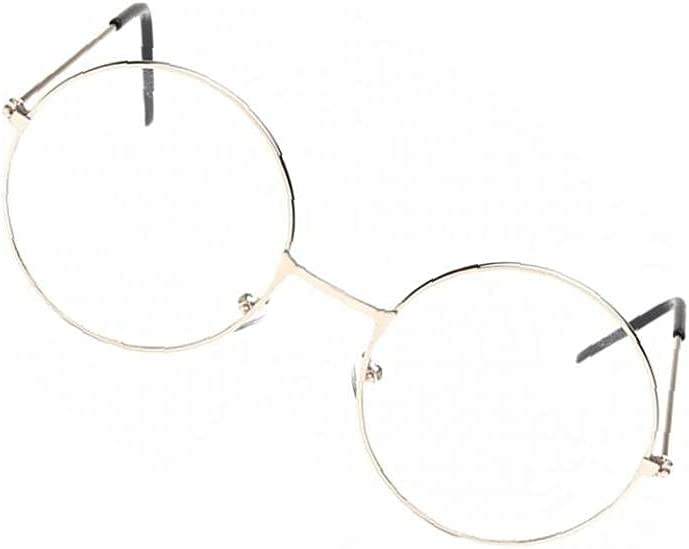 Vintage Glasses Unisex Round Outlet sale feature Eyeglas supreme Metal Frame