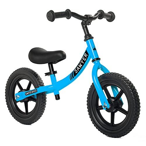Sawyer - Bicicleta Sin Pedales Ultraligera - Niños 2, 3, 4 y 5 años (Azul)