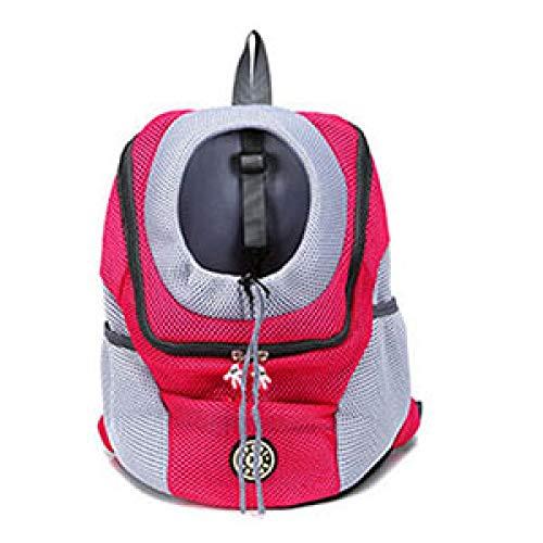 DZHTWSRYGR Pet Backpack Venxuis New out Double Shoulder Portable Travel Backpack Outdoor Pet Dog Carrier Bag Pet Dog Front Bag Mesh Backpack Head Dog Carriers  - AliExpress