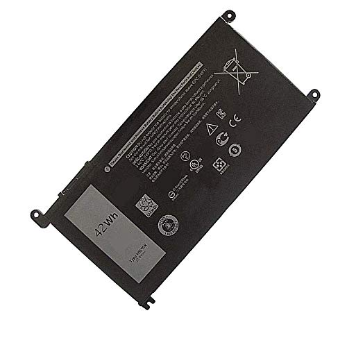 Trconelectron Battery Replace for Dell Inspiron 15 5565 5567 5568 5578 7560 7570 7579 7569 P58F Inspiron 13 5368 5378 5379 7368 7378 Inspiron 14 7460 Inspiron 17 5765 5767 WDXOR 3CRH3