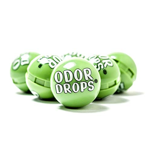 Odor Drops Shoe Deodorizer Balls for Neutralizing Shoe Odor and Refreshing Sneakers, Gym Bags, Lockers and Cars 6 Pack (Crisp Pine)