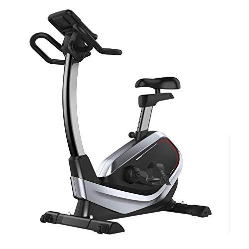 Bicicleta de ciclismo interior estacionaria, bicicleta de ejercicio bicicleta, bicicletas de gimnasia para el entrenamiento en bicicleta de entrenamiento de cardio en casa con cómodo cojín de asiento,