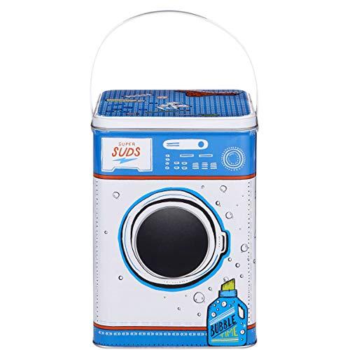 Butlers Super Suds Waschpulverdose Waschmittelbox - Blechdose im Waschmaschinen-Design