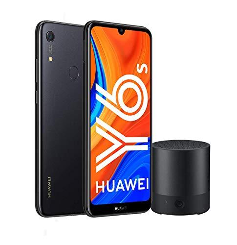 """Huawei Y6s - Smartphone de 6.09"""" (RAM de 3 GB, Memoria de 32 GB, Cámara trasera de 13MP, Cámara frontal de 8MP, EMUI 9) negro +  CM510"""
