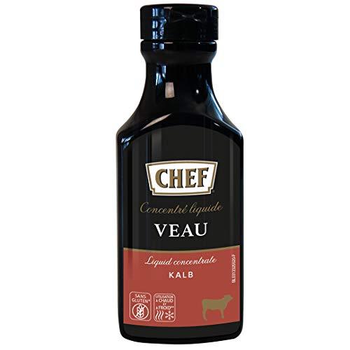 CHEF Flüssiges Konzentrat Kalb, (1 x 200 ml Flasche)