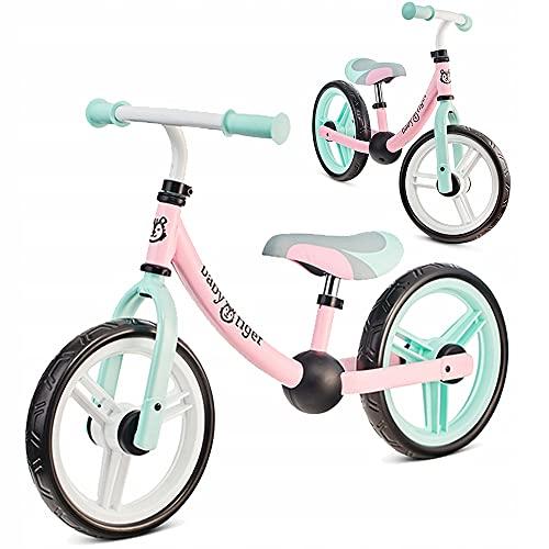 Bicicleta sin Pedales Flow de Baby Tiger (Rosa)