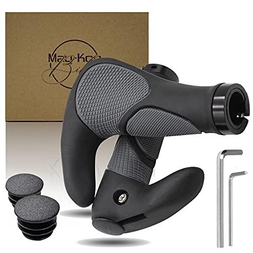 May-Kon Bike Manopole per bicicletta di alta qualità, ergonomiche per mountain bike, e-bike e molto altro ancora, in gomma antiscivolo
