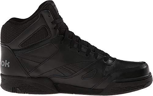Reebok Men's ROYAL BB4500H XW Fashion Sneaker, Black/Shark, 13 4E US