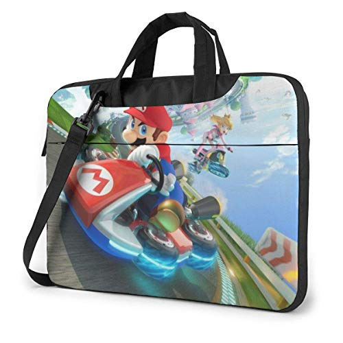 Mario Racing Laptop Bag Tablet Briefcase Portable Protective Case Cover 14 inch LAPT-3630