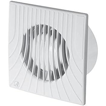 Ventilatore VENTOLA 150 mm umidostato muro soffitto bagno cucina MONTAGGIO TIMER 15 cm HYGRO