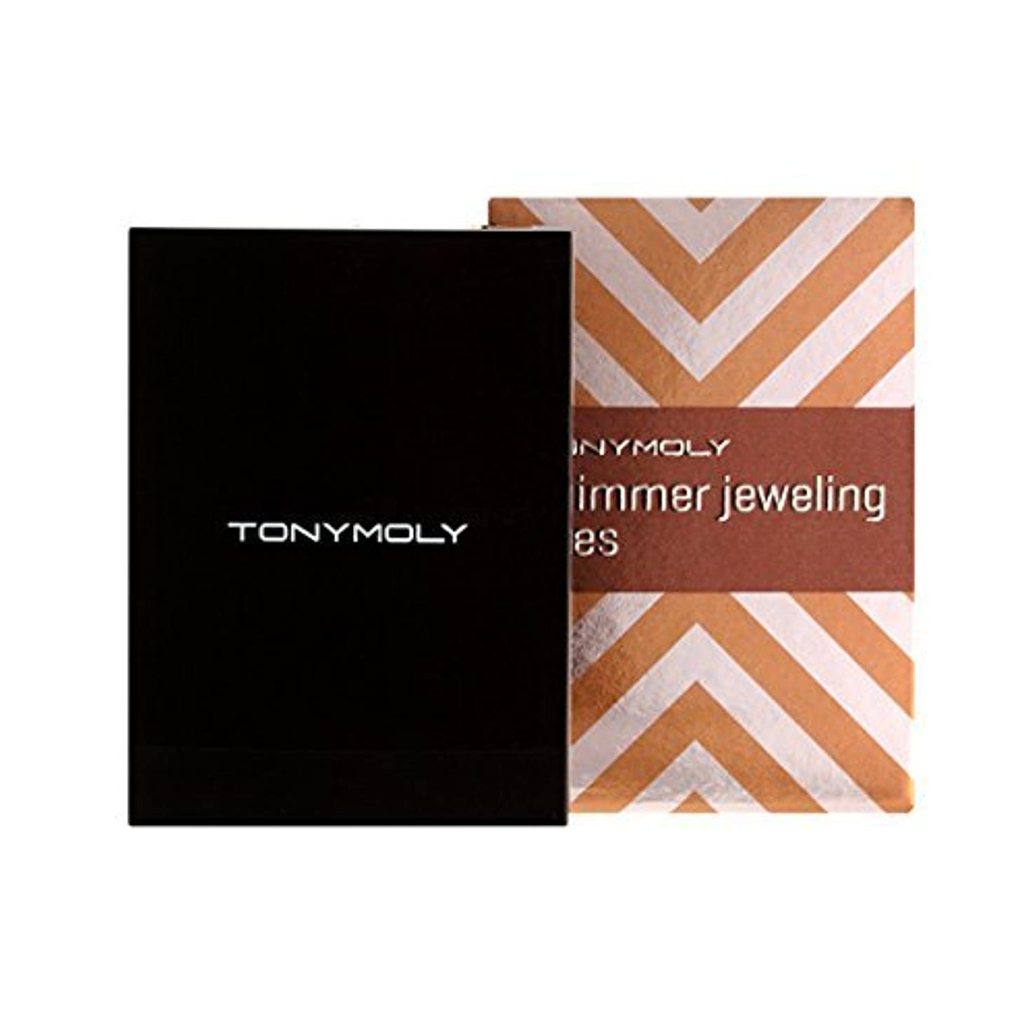 電報ショッピングセンター好奇心盛[Tonymoly] トニーモリ Shimmer Jeweling Eyes 2.7g #05 Peach Jeweling by TONYMOLY