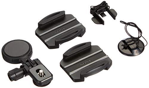 Sony VCT-HSM1 seitliche Helmhalterung (Zubehör zur Befestigung am Helm, Winkel anpassbar, geeignet für Action Cam FDR-X3000, FDR-X1000, HDR-AS300, HDR-AS200, HDR-AS50) schwarz