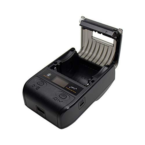 YGX Embalaje De La Impresora De Etiquetas, Impresora De Código De Barras Portátil Bluetooth para Impresora Térmica De Etiquetas POS 80Mm De Impresora Adecuado para El Androide/iOS/Win/Mac