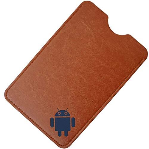 AKNICI 7,85-8 Zoll Sleeve Hülle - Ultra Dünn Schlank Slim Schutzhülle Beutel Tasche Hülle Cover für iPad Mini 7,85, Lenovo Tab4 8 Plus/Tab4 8, Samsung Galaxy Tab S2, Huawei MediaPad T3 8 Etc - Braun