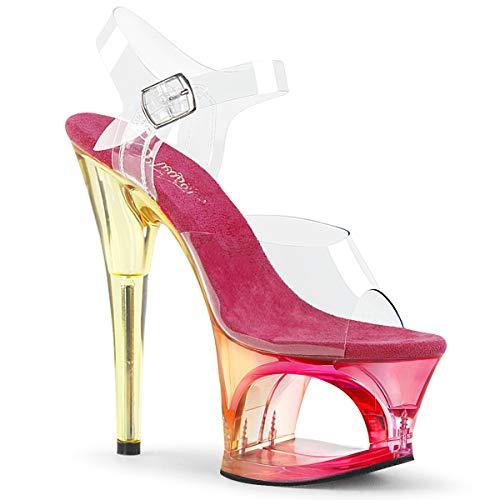Pleaser MOON-708MCT dames hoge hakken sandalen