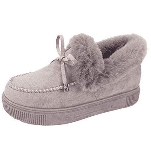 Damen Corashoes, Casual Fashion Flat Boots Niedliche warme Winter langlebige Schuhe, Damen Plüsch Sneaker, Schuhe