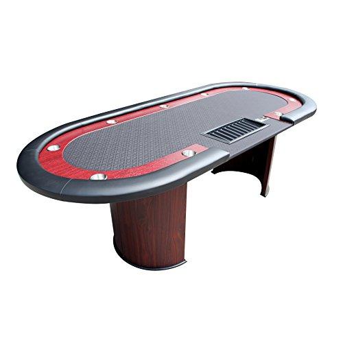 IDS Online Poker 96' Classic Luna Poker Table Black