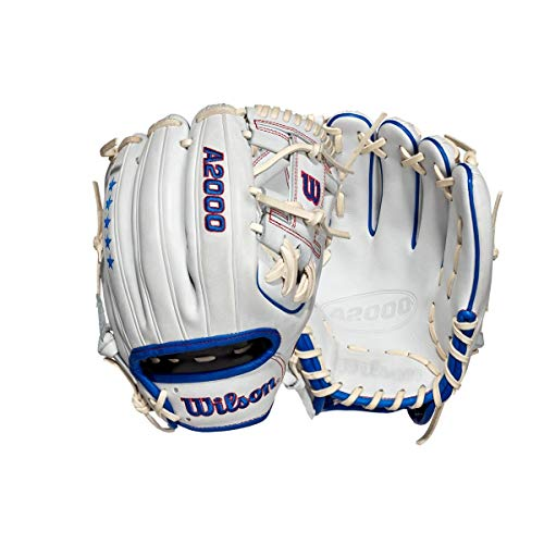 Wilson 1 Set of 3 A2000 Limited Edition Red, Blue, White Stars & Stripes 1786 11.5  Infield Baseball Glove