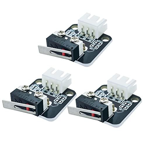iplusmile 3pcs 3D Printer Limit Switch Mechanical Module Endstop Replacement Limit Swith Part Lots Endstop Limit Switch for CR10
