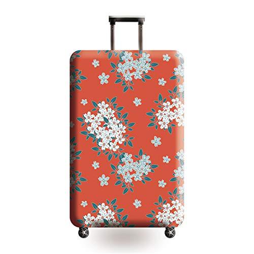 TICKRAN Gepäckabdeckung, Design Reisekoffer-Schutz, elastisch, Kratzfest, für 45,7 bis 81,3 cm Gepäck, e, Large