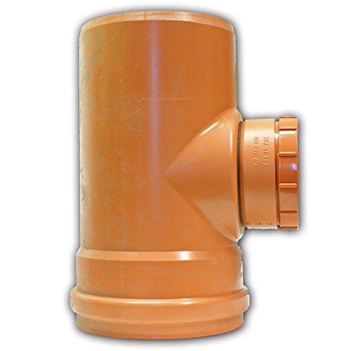 Ostendorf KG Reinigungsrohr DN 300 315 KGRE Revisionsrohr PVC Kunststoff Abwasserrohr Revisionsöffnung Revision Kanalrohr Rohr