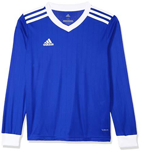 adidas TABELA 18 JSY L Camiseta Mangas Largas, Niños, 140 (Talla del Fabricante: 10 Y)
