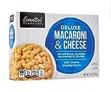 Essential Everyday Cena de Macarrones y Queso Deluxe con Salsa Cheddar Cremosa, 397 g, esencial para todos los días Macarrones y Queso Cena Deluxe con Salsa Cheddar Cremosa