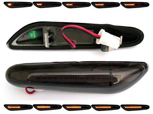 LED dynamische LED Seitenblinker Laufblinker mit E-Prüfzeichen (LED Seitenlaufblinker, getönt) BM